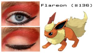 Pokemakeup 136 Flareon by nazzara