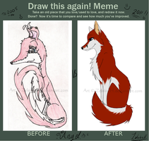 Draw this again meme by ZelukreH