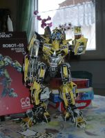 Bumblebee 3D Puzzle by Catskind
