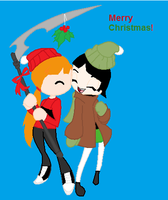 The Christmas Couple by ppg-green-team312