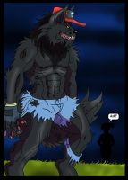 Commision Ash WereWolf Page 6 by Rex-equinox