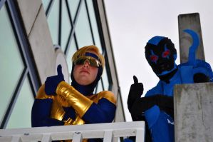 Fanime 2011 - Blue and Gold 2 by Cosphotos
