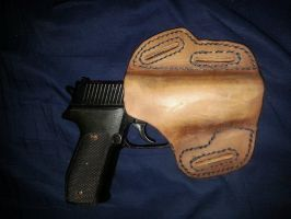 Leather Holster 2 by Lost-Follower