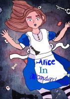 Alice Falls Down the Rabbit Hole- Again by glitteringcoin