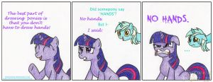 I Hate Drawing Hands by FinnishFox