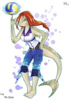 Commission : Keep cool and play volleyball by Marini4