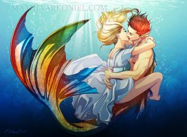 original: Underwater love by MathiaArkoniel