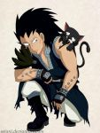Gajeel And Lily by SeiAni