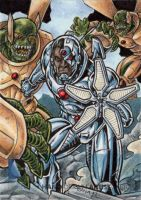 DC Comics 'The New 52' - Cyborg by tonyperna