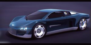 Bentley Hunaudieres 3D by AdamKop