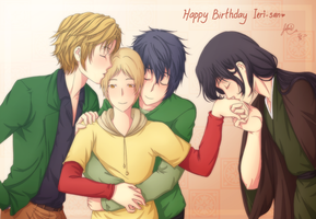 HBD Ieri-san by distractedsoul