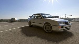 1987 Ford  Sierra RS500 Cosworth by melkorius