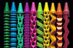 Crayons by LoverofThaAnimals