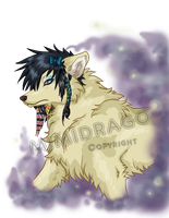 Me in a Wolf form by TwinFantasy