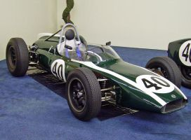 Cooper Climax Formula 1 racer by DarkWizard83