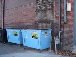 Dumpsters by EMGrapes