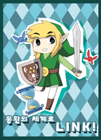 Toon Link by Pikanafe