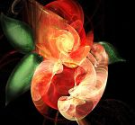 fractal roses by diosaperdida