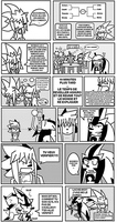 GHOST-TEAM : Fight Episode ::: page 01 by drakughost