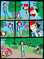 PKMN - Damn Pokemon encounters by SuperKusoKao