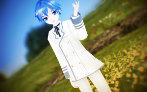 LAT White Blazer Kaito DOWNLOAD by MMDLADDyBoi003