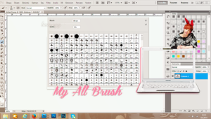 My All Brush Part1 by 4ever29