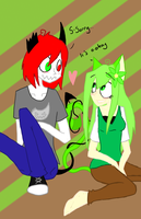 Daren and Star -finished- by fizzypopfriday