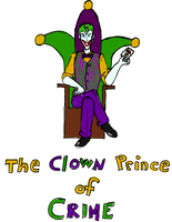 The Clown Prince Of Crime by zuzuKH