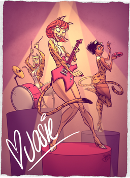 Josie and the Pussycats by jeffagala