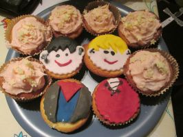 Merlin cakes by cornishmouse
