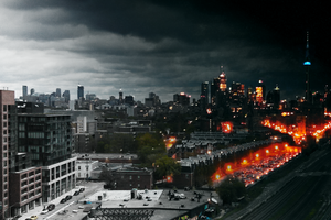 Toronto: Morning To Night by coinoperatedbear