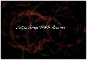 Coffee Ring  PSP Brushes by Bound-By-Leather