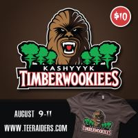 Timberwookiees at www.teeraiders.com by donot182