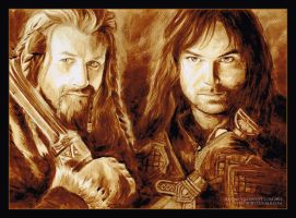 Fili and Kili by PrincessTigerLili