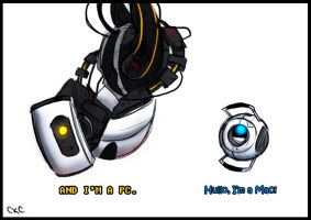 Portal 2 - Mac vs PC by Inonibird