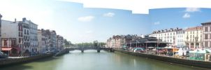 Bayonne - La Nive by Abylone