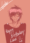 Lavi Birthday - 10.08 by UsagiNoAka