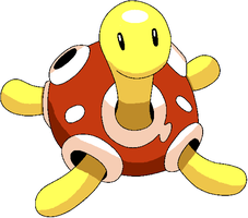 Shuckle colouring by LadyCharizard