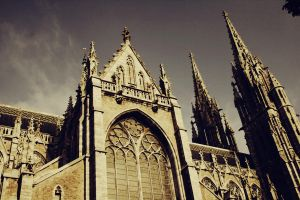 Cathedral Oostende-Belgium v2 by simoner
