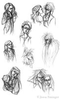Labyrinth Sketches by jbsdesigns