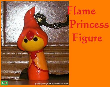 Flame Princess Figure by pandaparty666
