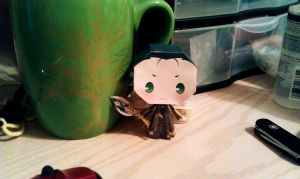 Loki Papercraft Wheeeeee by Feyreisa