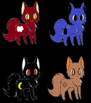 Kitty adopts (1-3 points) by doningues