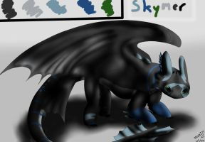 Skymer - My new OC by MizaT11