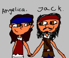 Jack and Angelica again by C-J-Sparrow
