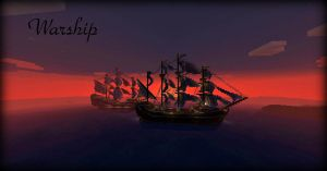 Warship by Sillouete