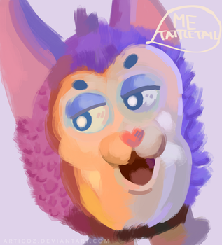 Me Tattletail! - Tattletail by Articoz