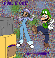 Duke it out :Trade: by DarkCream