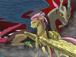 Wanted: Flutter S. Dragon-Commander by Backlash91