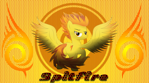 Spitfire Wallpaper by LugiPoni